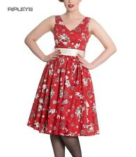 Hell Bunny Christmas Noel 50s Pin Up Rockabilly Dress BLITZEN Red All Sizes
