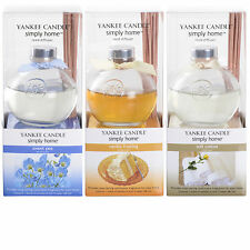 Yankee Candle Reed Diffuser Simply Home Fragrance Scent Vanilla Cotton Sweet Pea