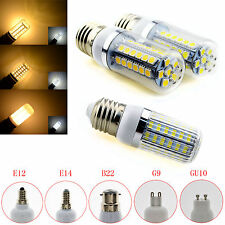 5/9/13W E12 E14 E27 B22 G9 GU10 5050 SMD LED Corn Light Bulb Lamp 110/220V White