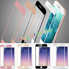 Full Cover Color Mirror Effect Tempered Glass Screen Film for iPhone 6 & Plus
