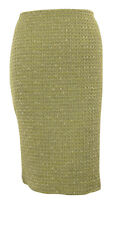 Calvin Klein Women's Metallic Flecked Tweed Woven Pencil Skirt