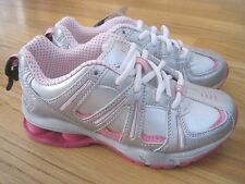 Girl DANSKIN SILVER with PINK sneakers shoes NWT 2