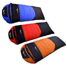 Outdoor Winter Camping Waterproof Warm Portable Envelope Duck Down Sleeping Bag