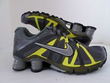 Nike Men Shox Roadster Running Shoes Drk Grey/Metalic Silver/Volt  487604-030 **