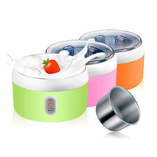 Electric Automatic 1.2 L Yogurt Maker fermentation stainless steel inner pot