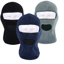 Fleece Full Face Mask Motorcycle Running Cycling Balaclava for Cold/Hot Weather