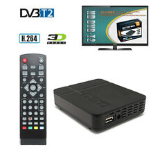 HD Mini DVB-T2 Digital Terrestrial Tuner TV RECEIVER 1080P HDMI Cable Antenna
