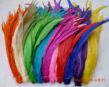 Wholesale! 10/50/100 pcs beautiful rooster tail feathers 12-14 inches/30-35cm