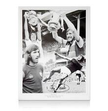 Billy Bonds signed West Ham photo montage Autograph