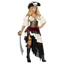 Sexy Pirate Costume Adult Wench Halloween Fancy Dress
