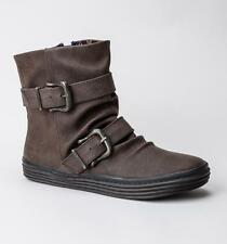 Blowfish Octave Coffee Texas PU Ankle Boots