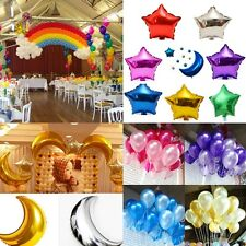3/10/20/50pcs Star Moon Balloons Foil Balloons Birthday Party Wedding Decoration