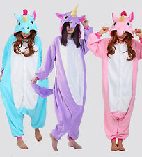 Unicorn Tenma Kigurumi Pajamas Animal Cosplay Costume Unisex Onesie Sleepwear2