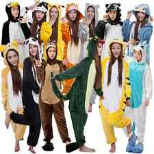 Hot!!Unisex Animal Onesie Kigurumi Pajamas Costume Adult Cosplay Flannel dress