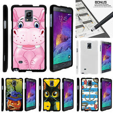 For Samsung Galaxy Note 4 N910 Case Hard Snap On 2 Piece Slim Shell Cartoons