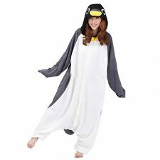 Kigurumi Pajamas Unisex Adult Cosplay Costume Anime Onesie Grey penguin
