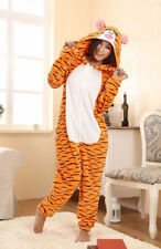 Tigger tiger adult romper pyjamas/pajamas/onesie costume cosplay fleece