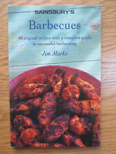 Cook Book Sainsbury's BARBECUES Barbecue 40 Recipes Cooking Jim Marks