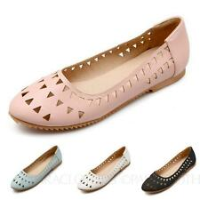 Rounded Toe ballerinas Summer shoes womens Ballet Flats Size 6 7 8 9 10 11 12 13