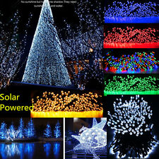 50/100/200 LED Solar Powered Fairy String Lights Christmas Outdoor Indoor BY
