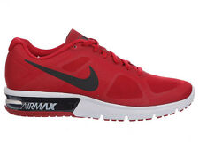 NEW MENS NIKE AIR MAX SEQUENT RUNNING SHOES TRAINERS GYM RED / WHITE / BLACK