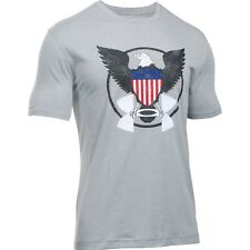 New Under Armour 1283097 Men's UA Freedom USA Eagle Tactical Graphic T-Shirt