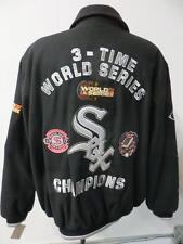Chicago White Sox Mens 2XL - 6XL 3 Time World Series Champions Wool Jacket CWS 4