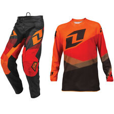 2016 ONE INDUSTRIES YOUTH ATOM MOTOCROSS MX KIT SHIFTER ORANGE RED pants jersey
