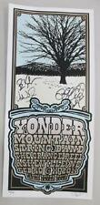 YONDER MOUNTAIN STRING BAND ASHEVILLE NC 2011 SIGNED CONCERT POSTER SILKSCREEN