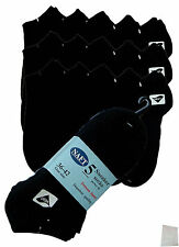 15 Pairs Trainers Sports Socks black Short Sneakers Laundry bags