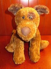 "16"" Animal Alley Brown Puppy Dog Plush Stuffed Animal Toys R US Tan Eye Spot HTF"