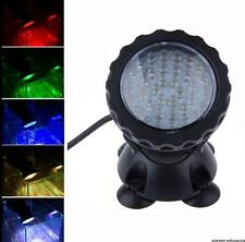 36LED Aquarium Fish Tank Garden Fountain Pond Underwater Spot Light Submersible^