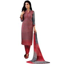 Readymade Elegant Embroidery Cotton Salwar Kameez Suit Indian-Alecia-2124-b