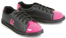 Brunswick TZone Black/Pink Womens Bowling Shoes