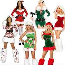 Sexy Womens Christmas Santa Claus Costumes Cosplay Fancy Dress Costom New style