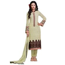 Designer Georgette Embroidered Salwar Kameez Suit Indian Dress-Sybella-S-57