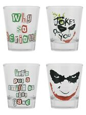 Batman The Joker Set Of 4 Shot Glasses
