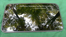 2003 MERCURY MOUNTAINEER SUNROOF GLASS YEAR SPECIFIC OEM FREE SHIPPING