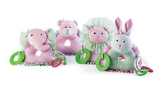 Mud Pie Baby PRINCESS TEETHERS Pretty In Pink Collection