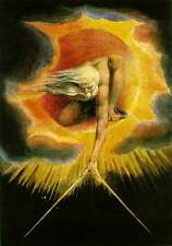 Handmade Oil Painting repro William Blake The Ancient of Days