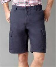 NEW MENS DOCKERS PACIFIC CARGO SHORTS CLASSIC FIT BROWN BLUE GRAY SIZE 34