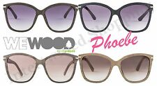 WeWood Cotton Eyewear Sunglasses Phoebe All Natural Fiber Wood UV Protection