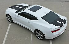 Factory Style SS RS Rally Vinyl Graphic Hood Decal 3M Racing Stripes Camaro 2016