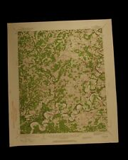 Oolitic Indiana vintage 1960 original USGS Topographical chart