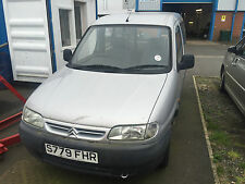 1998 CITROEN BERLINGO 1.4I SILVER ADAPTED FOR WHEELCHAIR ACCESS SPARES OR REPAIR