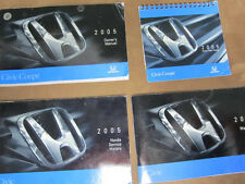 2005 Honda Civic Coupe Owners Manual w/case OEM 05 Free Shipping
