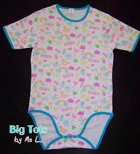 Adult Baby Smiles & Baby Things bodysuit *Big Tots Exclusive*