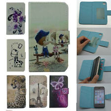 For LG case Wallet Card slot deluxe PU leather cartoon cute Cover
