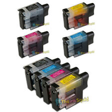 LC900 Ink Cartridges For Brother Printer DCP-110C DCP-111C DCP-115C DCP-117C