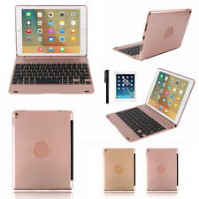 Aluminium Bluetooth Keyboard Smart Folio Case for iPad Pro iPad Air 2 9.7""
